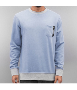 Sweat Just Rhyse Big Lake Crewneck Bleu