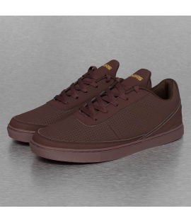 Baskets Dangerous DNGRS Perforated Sneakers Bordeaux
