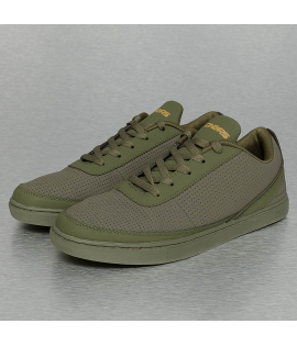 Baskets Dangerous DNGRS Perforated Sneakers Olive