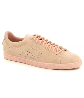Chaussures Le Coq Sportif Charline Nubuck Rose