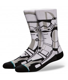 Chaussettes Stance x Star Wars Troopern Blanc
