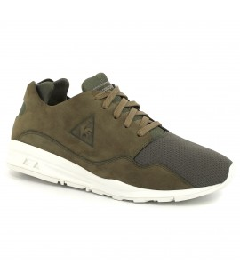Chaussures Le Coq Sportif LCS R Pure Mono Luxe Olive Night