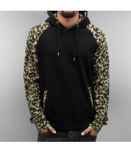 Sweat Capuche Cyprime Pacho Hoody Noir Camouflage