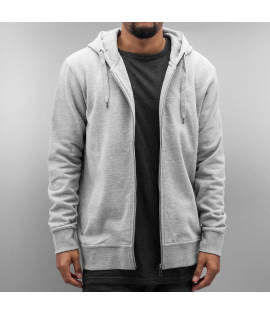 Sweat Zippé Cyprime Organic Cotton Zip Hoody Gris