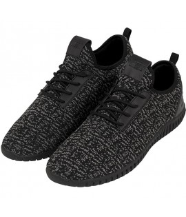 Baskets Urban Classics Light Runner Noir Gris