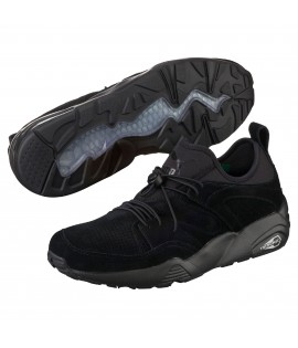 Baskets Puma Blaze Of Glory Soft Noir Noir Trinomic