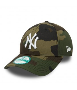 Casquette Incurvée New Era New York Yankees Vert Camouflage 940