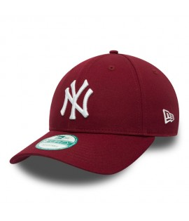 Casquette Incurvée New Era New York Yankees Cardinal Rouge 940