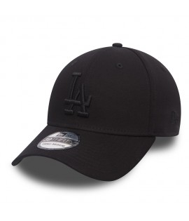 NEW ERA 39Thirty Los Angeles Dodgers Noir Noir Casquette sport MLB