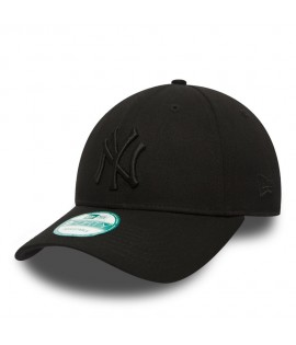 Casquette Adolescent New Era NY YANKEES Noir Noir Youth 9Forty