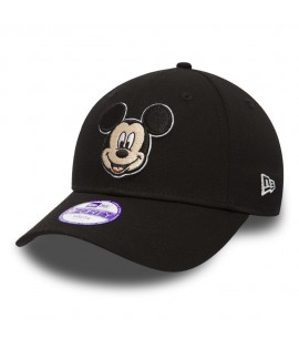 Casquette Bébé New Era 940 Walt Disney Mickey Mouse Hero Essential 9Forty Noire