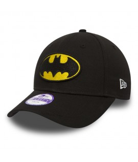 Casquette Enfant New Era DC Comics Batman Hero Essential Noir Child 9Forty