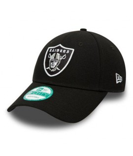 Casquette Enfant New Era 940 Oakland Raiders The League Noire Child 9Forty NFL