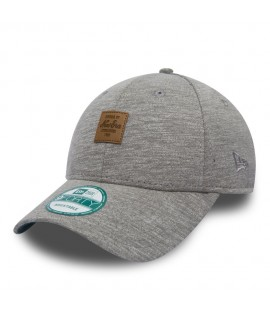 Casquette Incurvée New Era Jersey Square Patch Gris 940