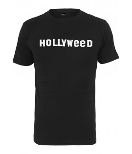 T-shirt HollyWeed Mister Tee Noir