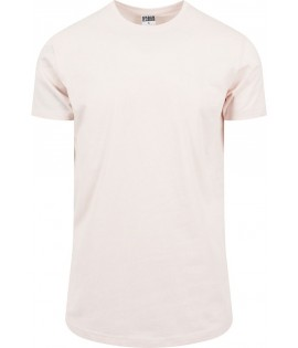 Tee-shirt Oversize Urban Classics Rose Long Pink