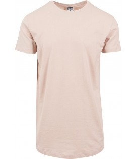 Tee-shirt Oversize Urban Classics Rose Pâle Long Light Pink