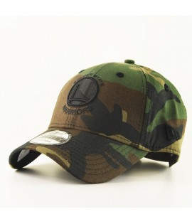 Casquette Incurvée New Era Golden States Warriors NBA Camo 9Forty Camouflage