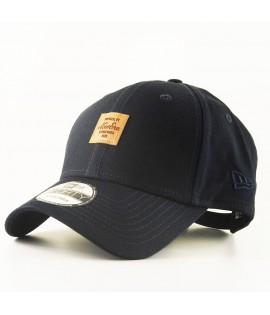Casquette Incurvée New Era Core Square Patch Bleu Marine 940