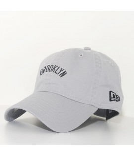 Casquette Incurvée New Era Brooklyn Nets NBA 920 Unstructured Grise 9Twenty