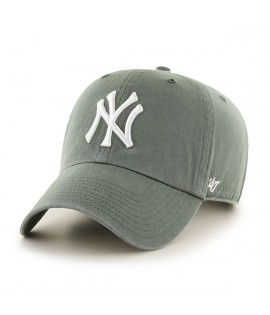 Casquette 47 Brand New York Yankees Clean Up Moss Olive