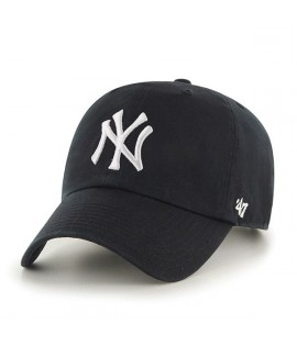 Casquette Adolescent 47 Brand New York Yankees Vintage Clean Up Noir Youth