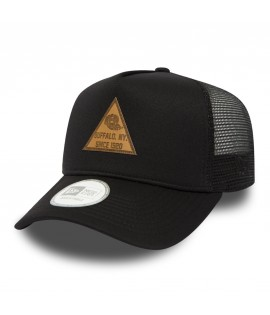 Casquette à Filet New Era Tri Patch Trucker Noire