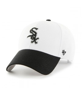 Casquette 47 Brand Chicago White Sox Audible MVP Blanc
