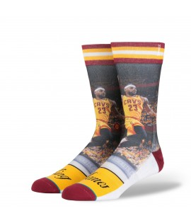 Chaussettes Stance King James Cleveland Cavaliers Lebron James NBA Legends