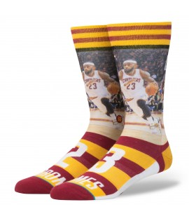 Chaussettes Stance LBJ Cleveland Cavaliers Lebron James NBA Legends