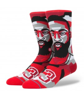 Chaussettes Stance Mosaic Harden Houston Rockets Jmaes Harden NBA Legends