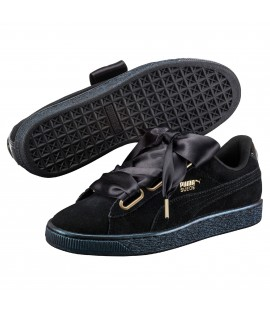 Chaussures Puma Basket Patent Satin Classic Noir Do You