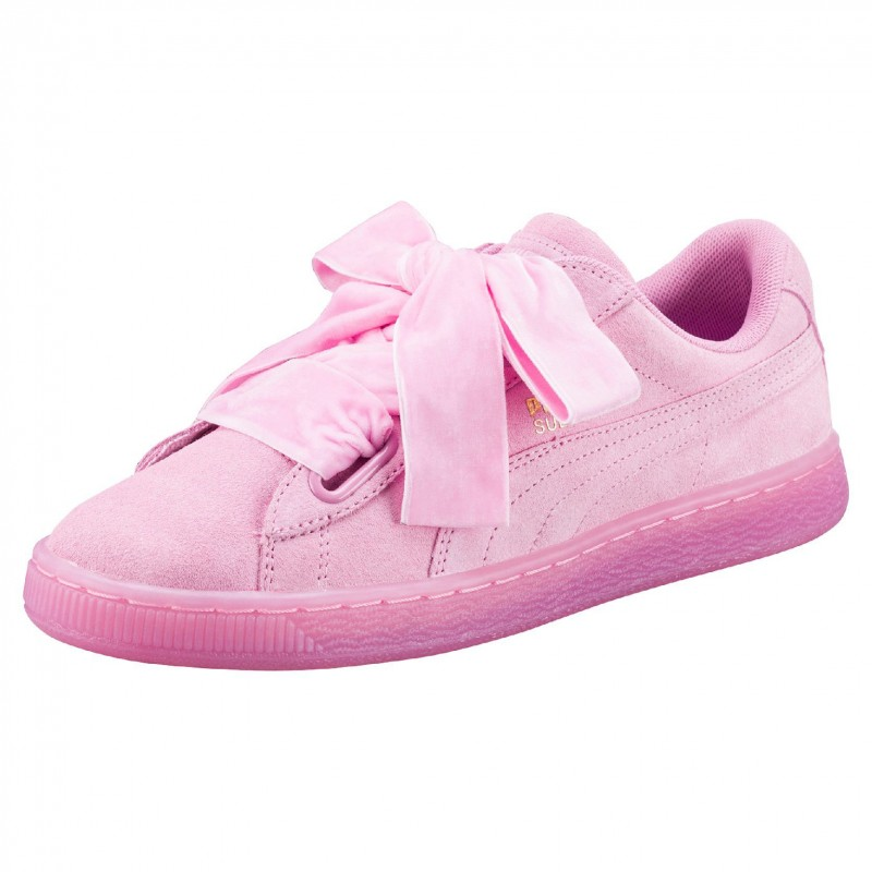 chaussures puma suede heart reset classic rose prism do you prestige center. Black Bedroom Furniture Sets. Home Design Ideas