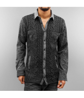 Chemise Just Rhyse Enndris Shirt Gris
