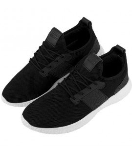 Baskets Urban Classics Advanced Light Runner Noir Blanc