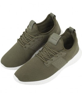 Baskets Urban Classics Femme Advanced Light Runner Olive Blanc