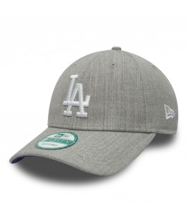 Casquette New Era 940 Los Angeles 9Forty Heather Team Gris