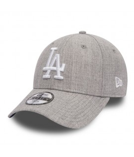 Casquette Adolescent New Era 940 Los Angeles 9Forty Heather Team Youth Gris