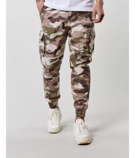 Pantalon Cargo Cayler § Sons Black Label Doomed Distressed Jogger Camouflage