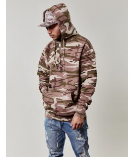Sweat Capuche Cayler & Sons Black Label Pleated Losse Fit Hoody Camouflage