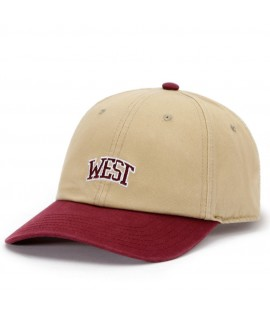 Casquette Incurvée Cayler & Sons West University Beige