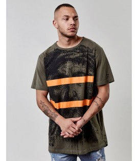 T-shirt Cayler & Sons Our Father Scallop Back Tee Olive