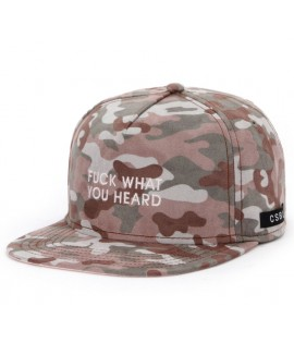 Casquette Cayler & Sons What You Heard Camo