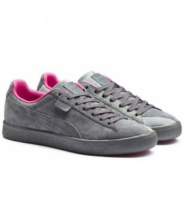 Chaussures Puma x Staple Clyde Gris Collection Interval