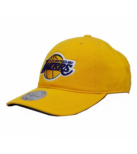 Mitchell & Ness Strapback LAKERS Los Angeles Jaune