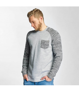 Sweat Just Rhyse Gris Chiné Pocket
