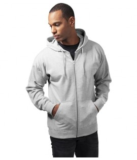 Sweat Zippé Oversize Urban Classics Gris Ample