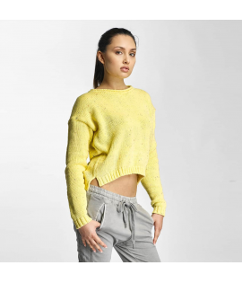 Sweat Just Rhyse Janeville Crewneck Jaune