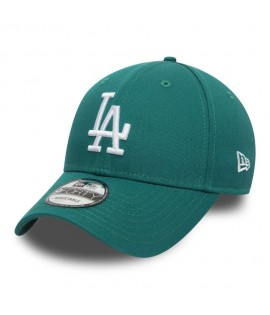 Casquette Incurvée New Era Los Angeles Dodgers League Essential 9Forty Vert