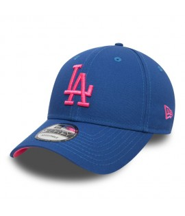 Casquette Incurvée New Era Los Angeles Dodgers League Essential 9Forty Bleu